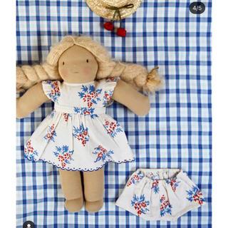 Caramel baby&child  - bonjour diary  お人形用ドレスL