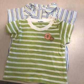 ファミリア(familiar)のfamiliar Tシャツ男の子80センチ 2枚セット(Tシャツ)