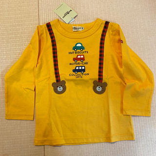 HOT BISCUITS - ミキハウス長袖Tシャツ100