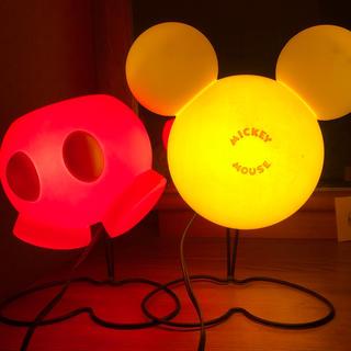 ディズニー(Disney)のDisney インテリアランプ         【フェイスタイプ】送料込み(フロアスタンド)