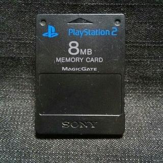 プレイステーション2(PlayStation2)のAC0600 PS2メモリーカード1個 ソニー純正 即購入歓迎  動確初期化済(家庭用ゲーム機本体)