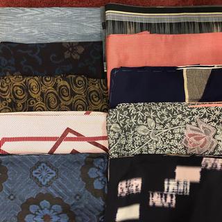 着物 10枚 リメイク用 奄美小紋含む高級素材(着物)