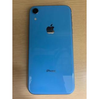 アイフォーン(iPhone)のiPhonexr 128GB simフリー 即日発送○(スマートフォン本体)