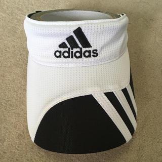 アディダス(adidas)のadidas アディダスゴルフバイザー(サンバイザー)