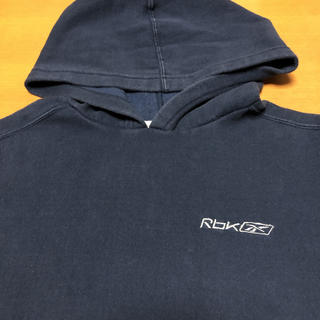 Reebok - リーボック Reebok スウェット パーカー フロントビッグポケット 刺繍ロゴ