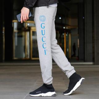 Gucci - GUCCI グッチ ロゴ ジョギングパンツ スウェットパンツ ジャージ XS