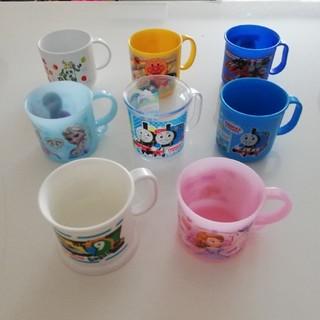 アンパンマン(アンパンマン)のプラスチック カップ 8個(マグカップ)