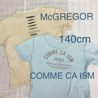 コムサイズム(COMME CA ISM)のTシャツ COMME CA ISM•McGREGOR 140cm(Tシャツ/カットソー)