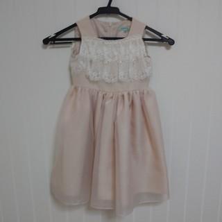トッカ(TOCCA)のTOCCA ドレス サイズ100 1度のみ着用 美品(ドレス/フォーマル)