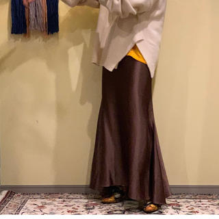 BEAUTY&YOUTH UNITED ARROWS - marfa サテンマーメイドスカート