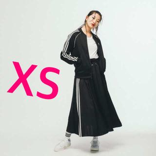 アディダス(adidas)の新品 2020 adidas  アディダス サテンロングスカート xs ブラック(ロングスカート)