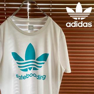 adidas originals Tシャツ ビッグロゴ