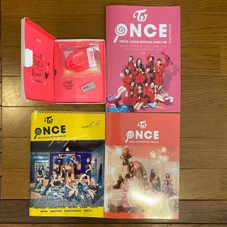 ウェストトゥワイス(Waste(twice))のTWICE ファンクラブ入会・継続特典+oncemagazine3冊セット(K-POP/アジア)