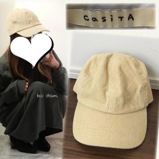カシータ(casiTA)のCasiTA♡コーデュロイ キャップ(キャップ)