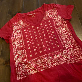 デニムアンドサプライラルフローレン(Denim & Supply Ralph Lauren)のsilver33様専用デニムアンドサプライ バンダナ柄 Tシャツ(Tシャツ(半袖/袖なし))