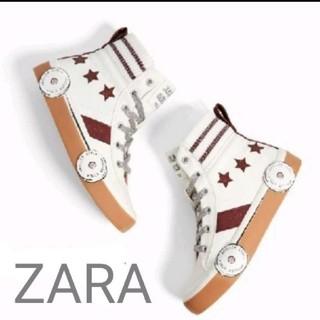 ZARA - 新品未使用 タグ付き ZARA ザラ ローラースケート スニーカー キッズ