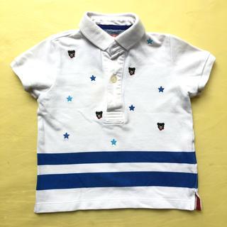 DOUBLE.B - ミキハウス ダブルビー ポロシャツTシャツ90
