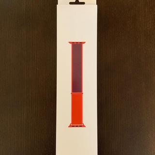 アップルウォッチ(Apple Watch)のアップルウォッチ 40mm純正バンド(PRODUCT)RED未開封(その他)
