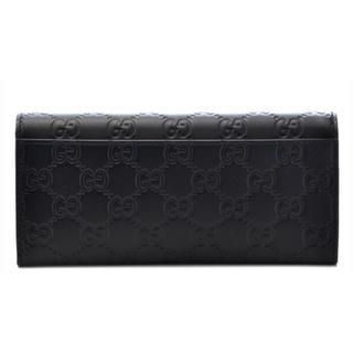 Gucci - 【美品】GUCCI 長財布 233154 グッチシマ ブラック