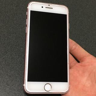 アイフォーン(iPhone)の即決最優先! 超美品 SIMフリー iPhone7 256GB ローズゴールド(スマートフォン本体)