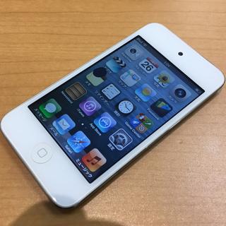 アイポッドタッチ(iPod touch)のiPod touch 第4世代【難あり】(ポータブルプレーヤー)