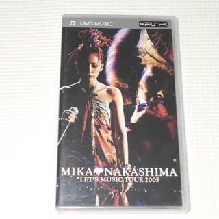 プレイステーションポータブル(PlayStation Portable)のPSP★中島美嘉 MIKA NAKASHIMA LET'S MUSIC TOUR(携帯用ゲームソフト)