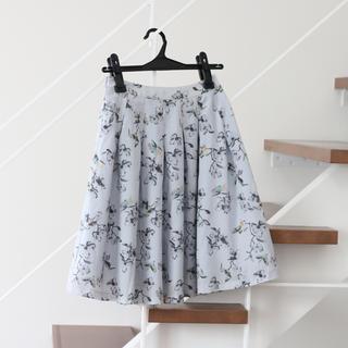 アンデミュウ(Andemiu)のAndemiu アンデミュウ 花柄スカート(ひざ丈スカート)