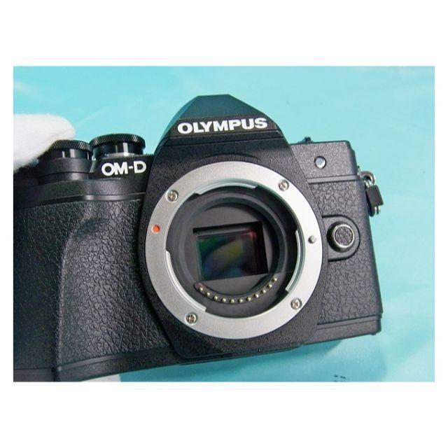 OLYMPUS(オリンパス)のjane1209様専用オリンパス OM-D E-M10 Mark III ボディ スマホ/家電/カメラのカメラ(ミラーレス一眼)の商品写真