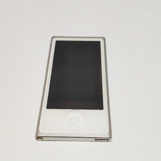 Apple - 動作確認済 中古 iPod nano 第7世代 Apple シルバー 16GB