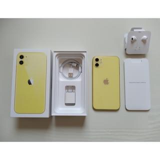 Apple - ☆iPhone11 64GB イエロー【中古】SIMロック解除済み