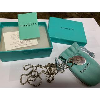 ティファニー(Tiffany & Co.)のティファニー ネックレス(その他)