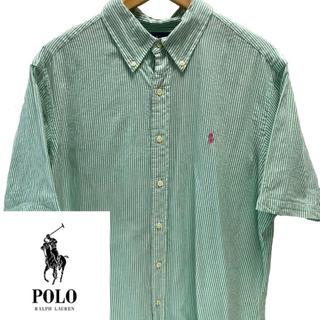 POLO RALPH LAUREN - ラルフローレン半袖ストライプシャツ