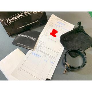 クロムハーツ(Chrome Hearts)のクロムハーツ 正規店青山店購入 DBL wrap ntfl v1  ブレスレット(ブレスレット)