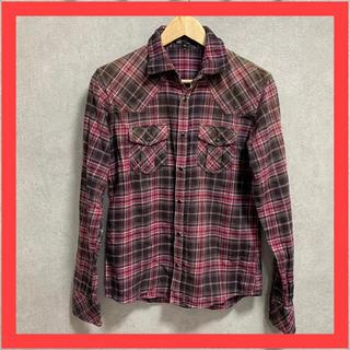エムケーミッシェルクランオム(MK MICHEL KLEIN homme)のミッシェルクラン チェックシャツ 長袖 シャツ(シャツ)