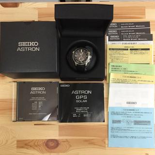 セイコー(SEIKO)のSEIKO セイコー ASTRON アストロン SBXA037(腕時計(アナログ))