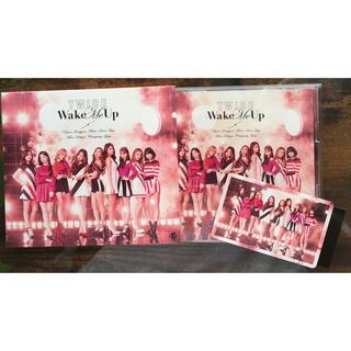 ウェストトゥワイス(Waste(twice))のtwice WMU Wake Me Up トワィス CD A盤(K-POP/アジア)