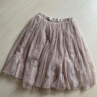アイズビット(ISBIT)のキラキラスカート(ひざ丈スカート)