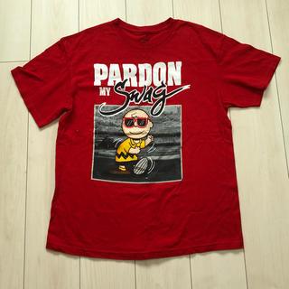 ピーナッツ(PEANUTS)のチャーリーブラウンTシャツ(Tシャツ/カットソー(半袖/袖なし))