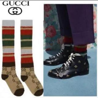 グッチ(Gucci)のGUCCI モノグラムソックス! ユニセックスです!!(ソックス)
