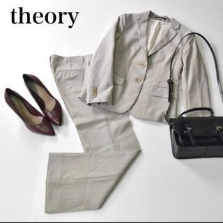 theory - 【美品】theory セオリー フォーマル セットアップ 春 夏 スーツ
