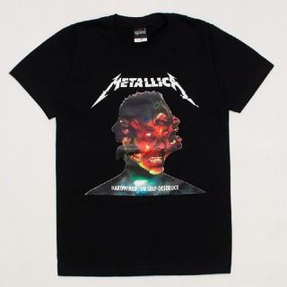 アゲインスト(AGAINST)のメタリカ Tシャツ XL ブラック パスヘッド ビッグTシャツ オーバーサイズ(Tシャツ/カットソー(半袖/袖なし))