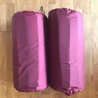 コールマン(Coleman)のコールマン(Coleman) キャンパーインフレーターマット ダブルセットII (寝袋/寝具)
