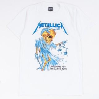 アゲインスト(AGAINST)のメタリカTシャツ XL メタリカ 両面プリント ドリス (Tシャツ/カットソー(半袖/袖なし))