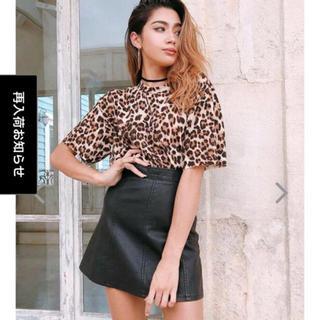ルームサンマルロクコンテンポラリー(room306 CONTEMPORARY)のアネラトーキョー  レザースカート(ミニスカート)