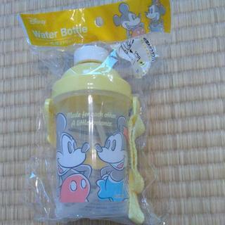 ディズニー(Disney)の【新品】ミッキー&ミニー ストロー水筒(水筒)