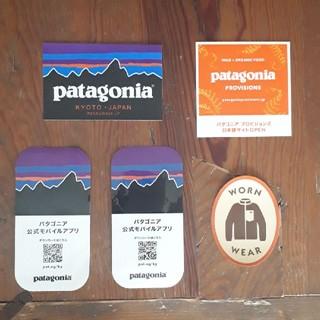 パタゴニア(patagonia)のパタゴニア ステッカー(含 京都) 全5枚(その他)