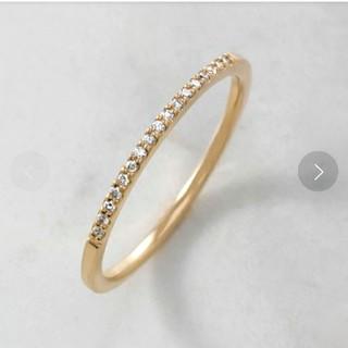アガット(agete)のアガット agete リング K10 イエローゴールド ダイアモンド (リング(指輪))