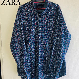 ZARA - ZARA花柄シャツ