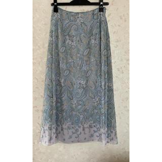 ロイスクレヨン(Lois CRAYON)のロイスクレヨン ペイズリー 夏向ロングスカート 美品(ロングスカート)