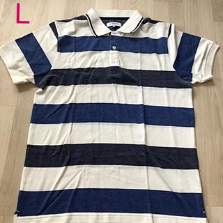 シマムラ(しまむら)のメンズ半袖ポロシャツ L未使用(ポロシャツ)